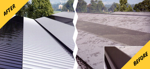 Morclad Roofing - Before & After image
